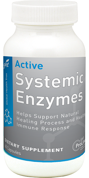 picture of bottle for active systemic enzymes