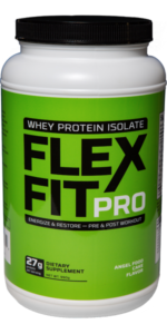 Angel Food Flavor FlexFitPro Why Protein Powder