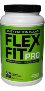 Chocolate Milkshake Flavor FlexFitPro Whey Protein bottle picture
