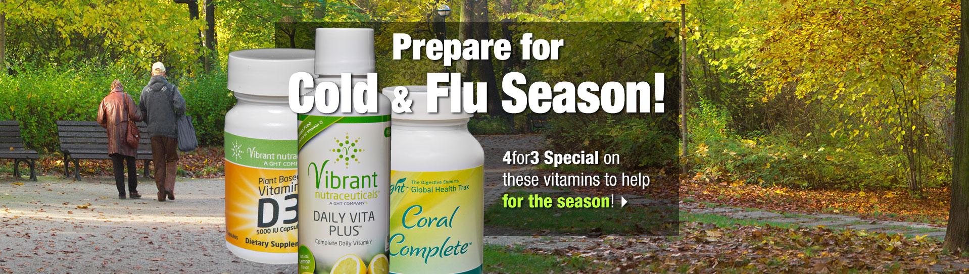Cold and Flu Season offer slide