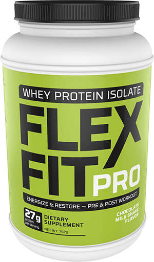 Flex Fit Pro Chocolate Flavor Package